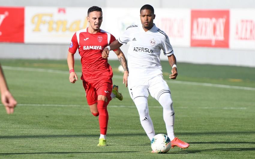Qarabağ yoxlama oyununda Keşləni 7 cavabsız qolla məğlub etdi