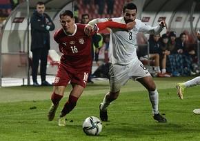DÇ-2022: Azərbaycan millisi Serbiyaya uduzaraq, qrupda sonuncu yeri tutub
