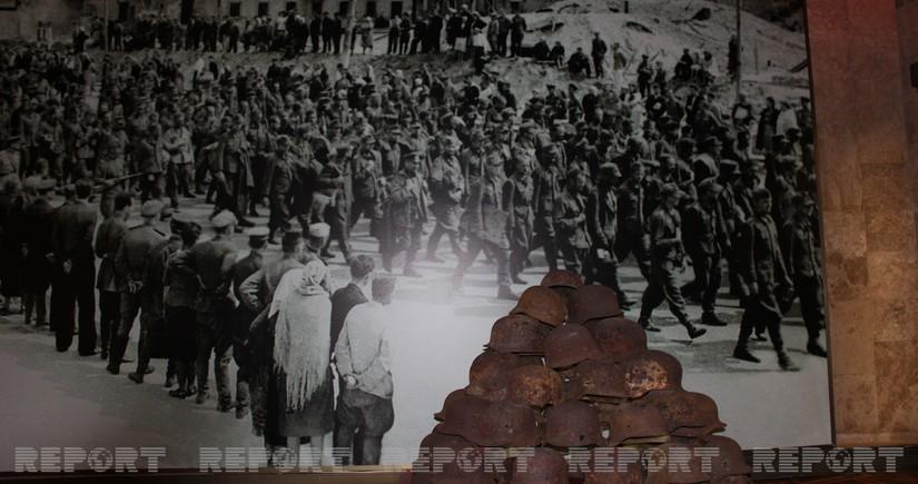 Keçmiş SSRİ-də yaradılan ilk hərbi qənimətlər muzeyi - REPORTAJ