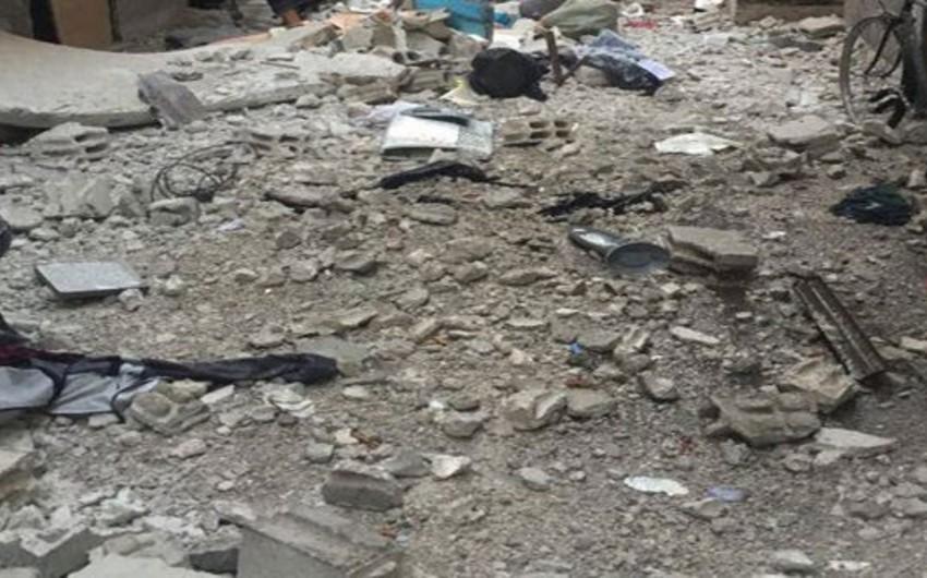 Два человека погибли при минометном обстреле лагеря беженцев на окраине Дамаска
