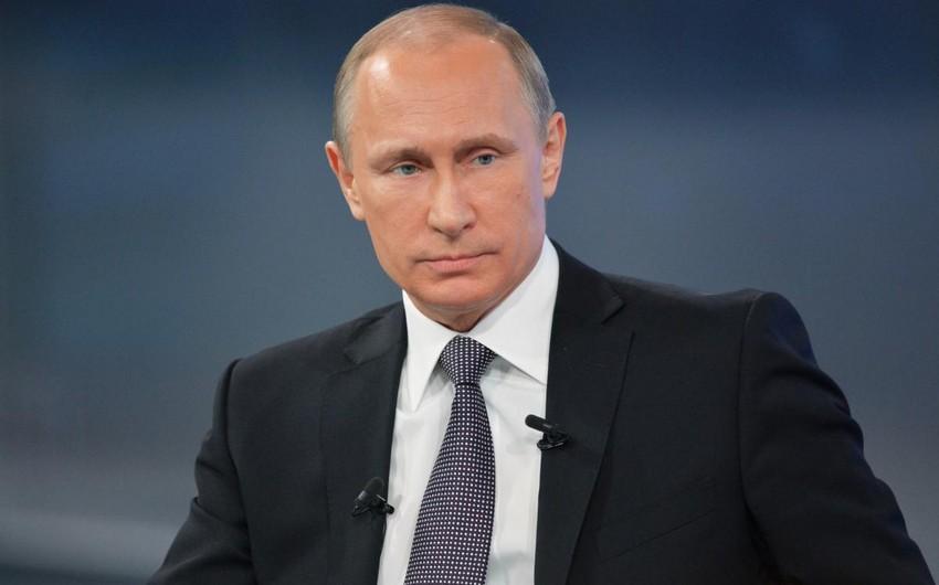 Putin: Rusiya Krımın Ukraynaya qaytarılmasına dair heç kimlə heç bir müzakirələr aparmayacaq