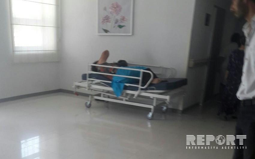 Biləsuvarda 46 yaşlı qadın oğlu tərəfindən döyülüb - FOTO