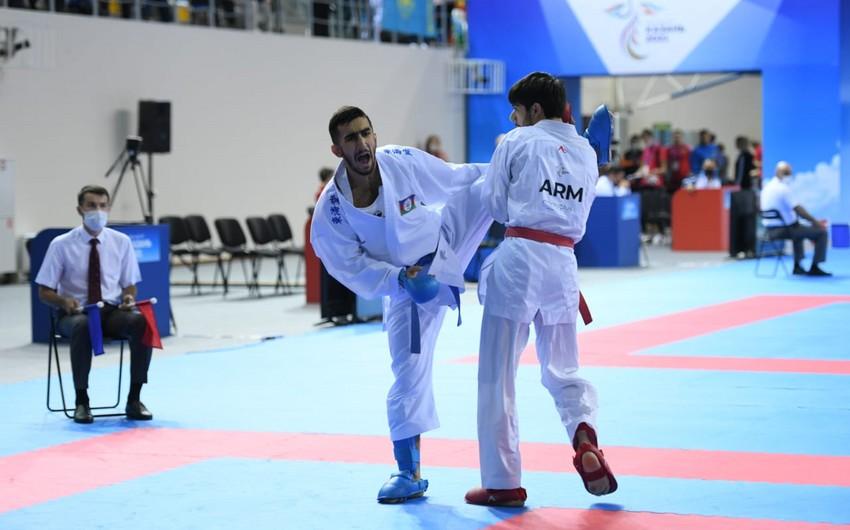 MDB Oyunları: Azərbaycanın dörd karateçisi finala yüksəlib