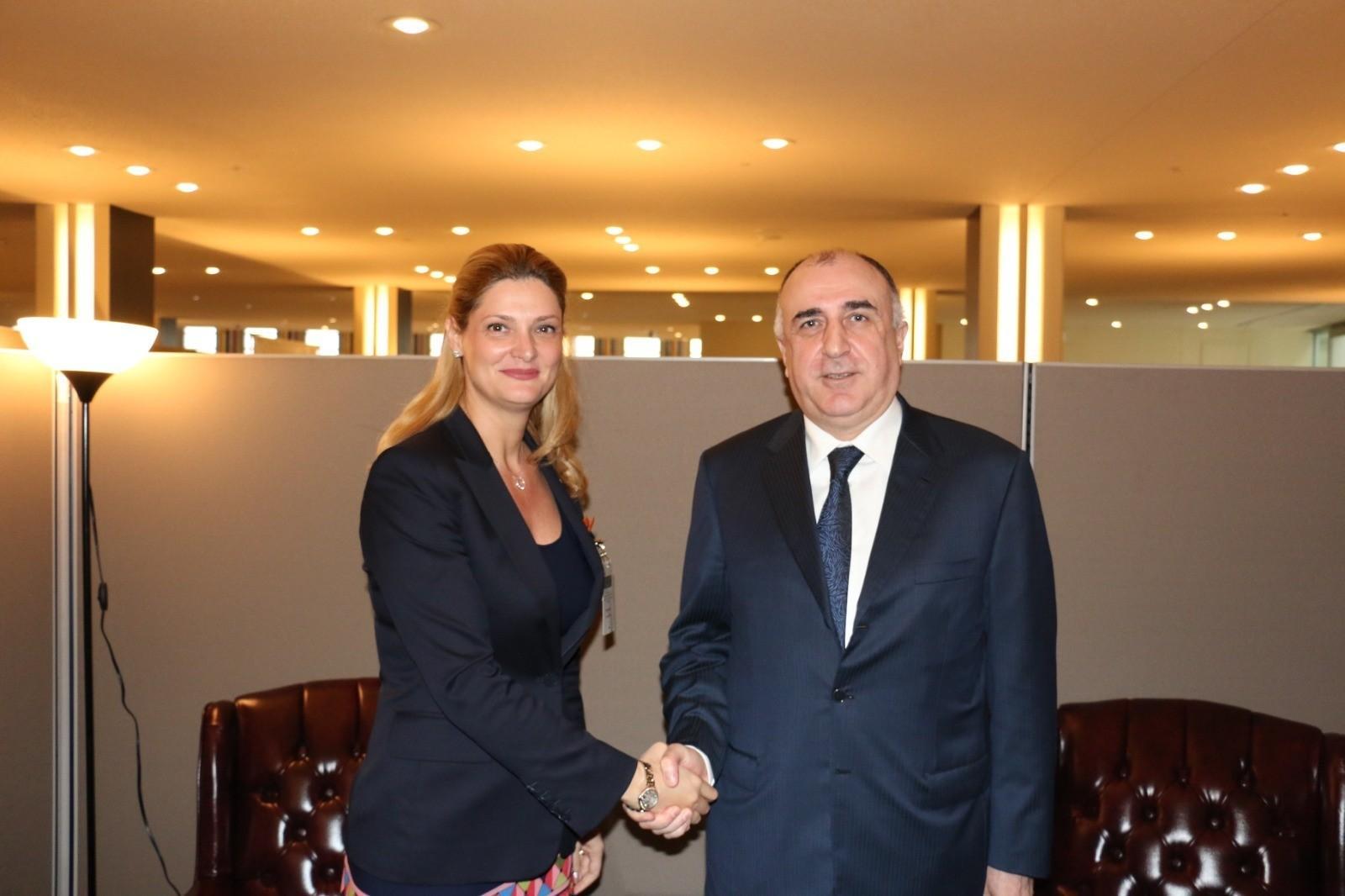 Главы МИД Азербайджана и Румынии обсудили двустороннее сотрудничество - ФОТО