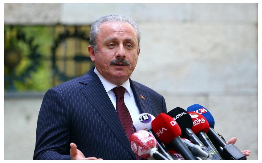 Türkiyə parlamentinin sədri Rusiyaya səfər edəcək