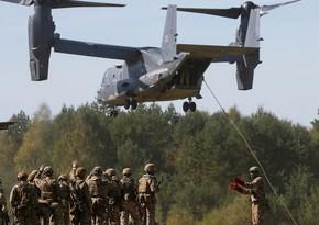 Ukraynada NATO-ya üzv dövlətlərin iştirakı ilə hərbi təlim başlayıb