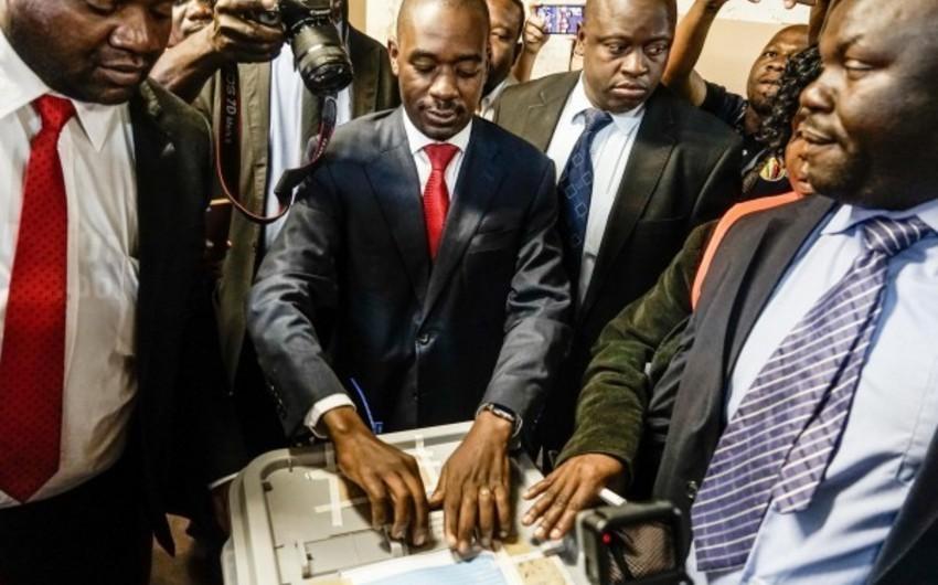 Zimbabvedə müxalifət lideri prezident seçkilərində qələbə qazandığını elan edib