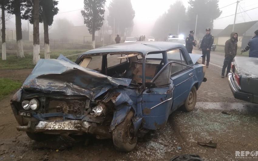 Lənkəranda yol qəzası olub: sürücülərdən biri ölüb, digəri yaralanıb - FOTOLAR - YENİLƏNİB-2