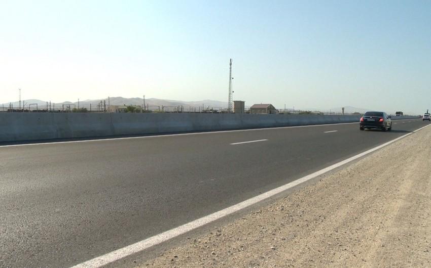 Первая платная дорога в Азербайджане будет открыта до мая следующего года