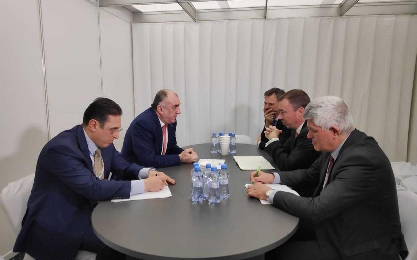 Elmar Məmmədyarov Avropa İttifaqının Cənubi Qafqaz üzrə xüsusi nümayəndəsi ilə görüşüb
