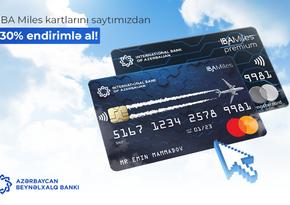 ABB endirimli IBA Miles kartları təqdim edir