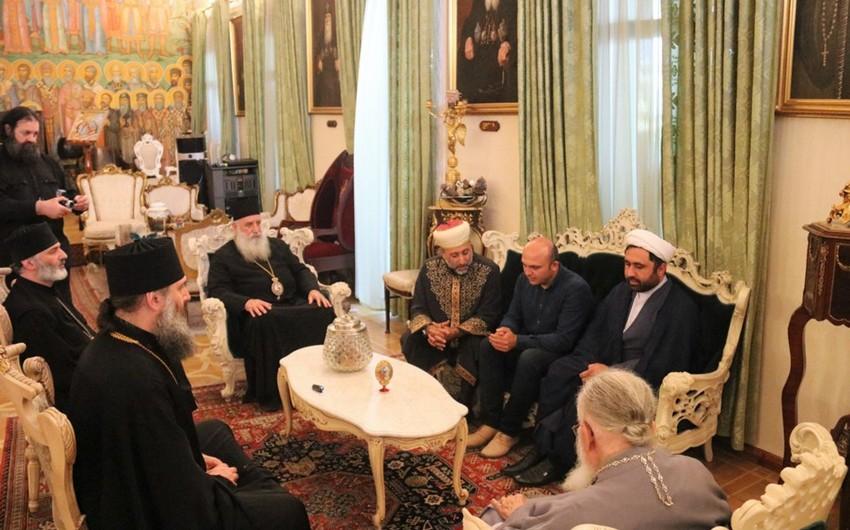 Gürcüstan patriarxı GMİ rəhbərliyi ilə Keşikçi Dağı ilə bağlı məsələni müzakirə edib