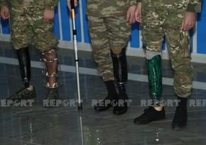 Ten veterans of Karabakh War provided with modern prostheses
