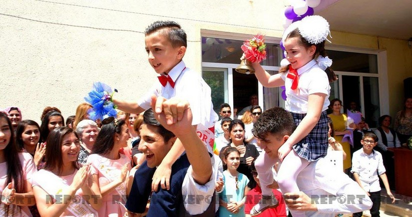 Azerbaijani school-leavers to hear their Last Bell this year as COVID-19 cases down