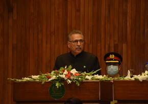 Pakistan prezidenti: Azərbaycanla iqtisadi əməkdaşlığı artırmaq istəyirik