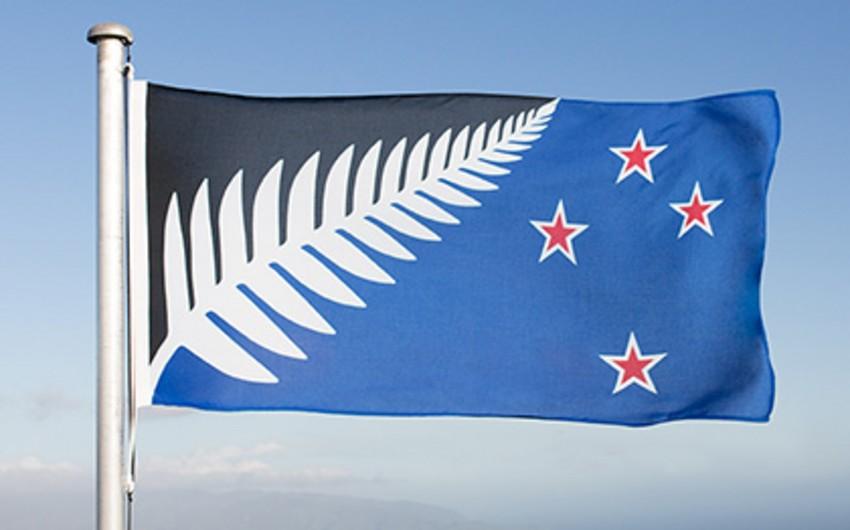 Yeni Zelandiyada ölkənin yeni bayrağının dizayn seçilib - FOTO
