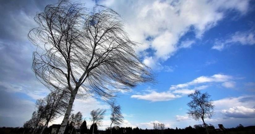 Завтра в Азербайджане ожидается сильный ветер