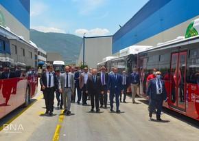 Турция приступит к производству 320 пассажирских автобусов для Баку