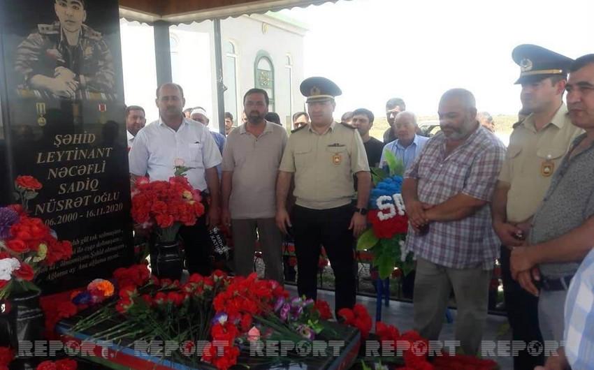 В Билясуваре почтили память курсанта, погибшего за 2 дня до победы