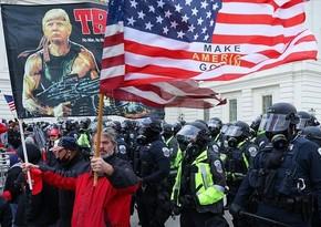 ABŞ-da Kapitoliyə hücumdan sonra 70-dən çox polis əməkdaşı işdən çıxıb