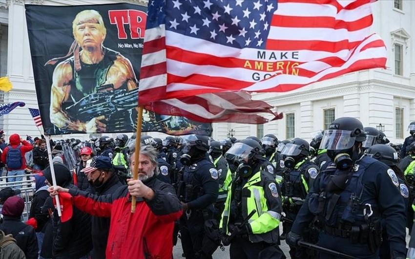 После штурма Капитолия в США уволились более 70 полицейских