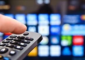 Ötən il daha 11 yeni TV vericisi istismara verilib