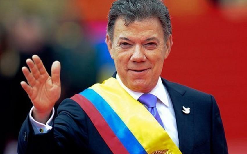 Kolumbiya prezidenti xələfini ölkədəki sülhü qorumağa çağırıb