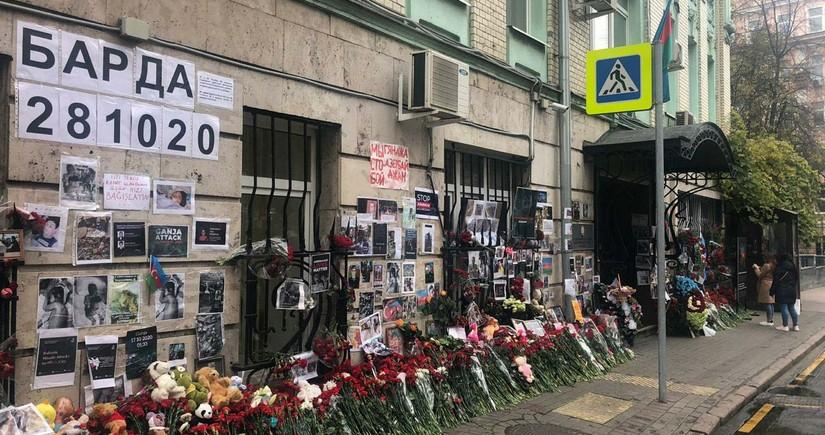 В Москве чтят память жертв ракетных ударов ВС Армении по Гяндже и Барде
