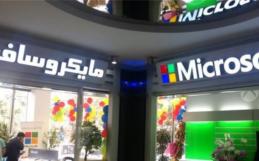 Tehranda ilk Microsoft mağazası açılıb