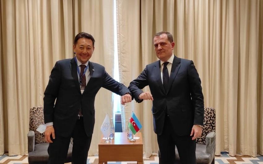 Kairat Sarıbay: Azərbaycan regional əməkdaşlıq və təhlükəsizliyin təmin olunmasında vacib rol oynayır