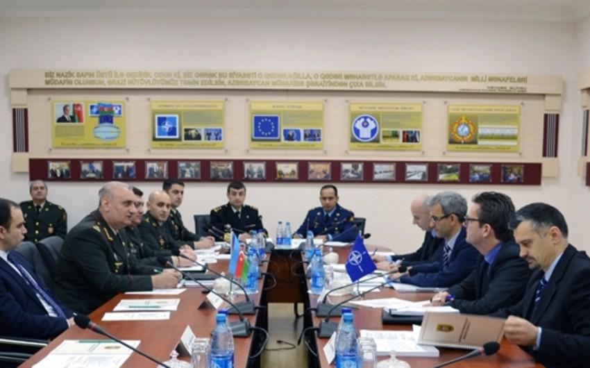 NATO-nun ekspertlər qrupu ilə işçi görüşü keçirilib