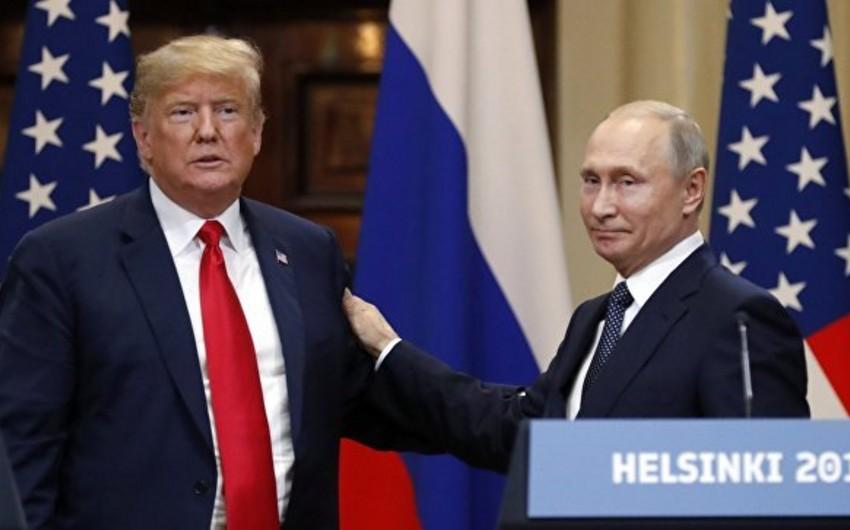 Pompeo: Trampla Putinin danışıqları son dərəcə vacibdir