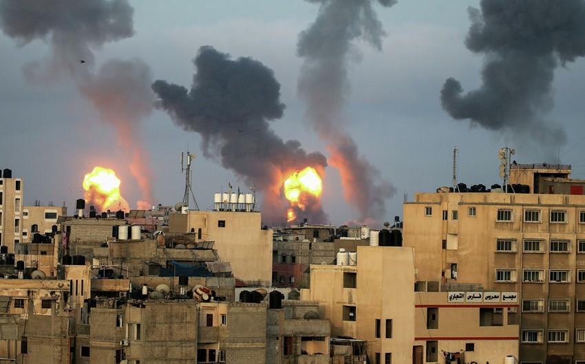 İsrailin Qəzza sektoruna hava zərbələri nəticəsində 30 nəfər həlak olub