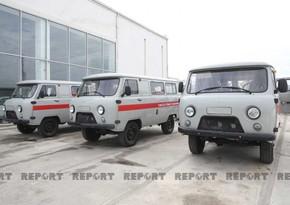 ANAMA sends 8 more ambulances to Karabakh
