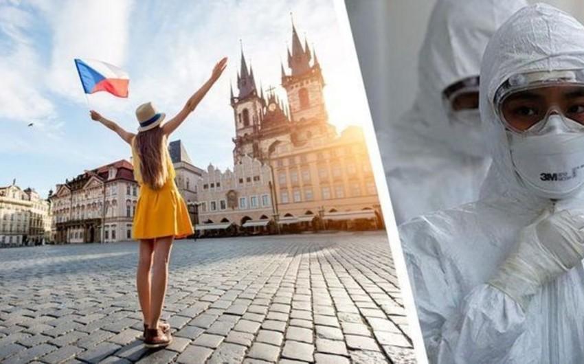 Çexiyada koronavirusun yayılması səngiyib