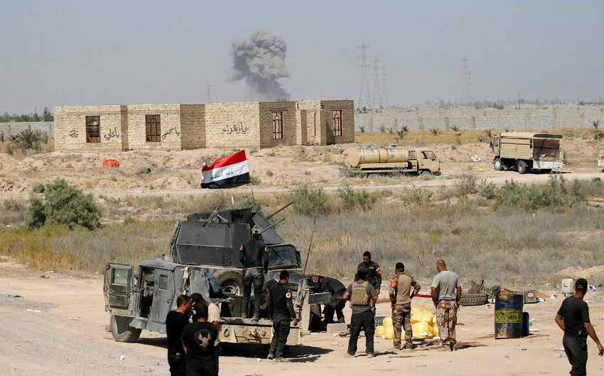 İraq ordusu Əl-Qaim şəhərində beş kəndi terrorçulardan azad ediblər