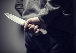 Qobuda 57 yaşlı kişi bıçaqlandı