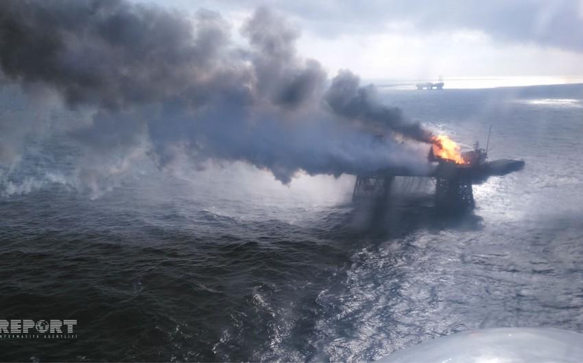 Обнаруженное в туркменском секторе Каспийского моря тело нефтяника доставили в Азербайджан