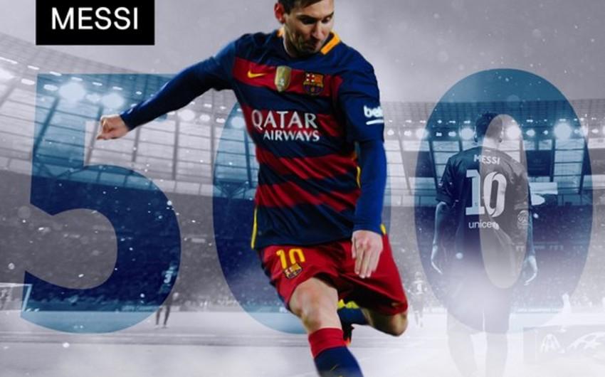Месси забил свой 500-й гол в карьере