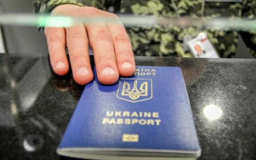 Təxminən 13 min Ukrayna vətəndaşı Aİ ölkələri ilə vizasız rejimdən istifadə edib