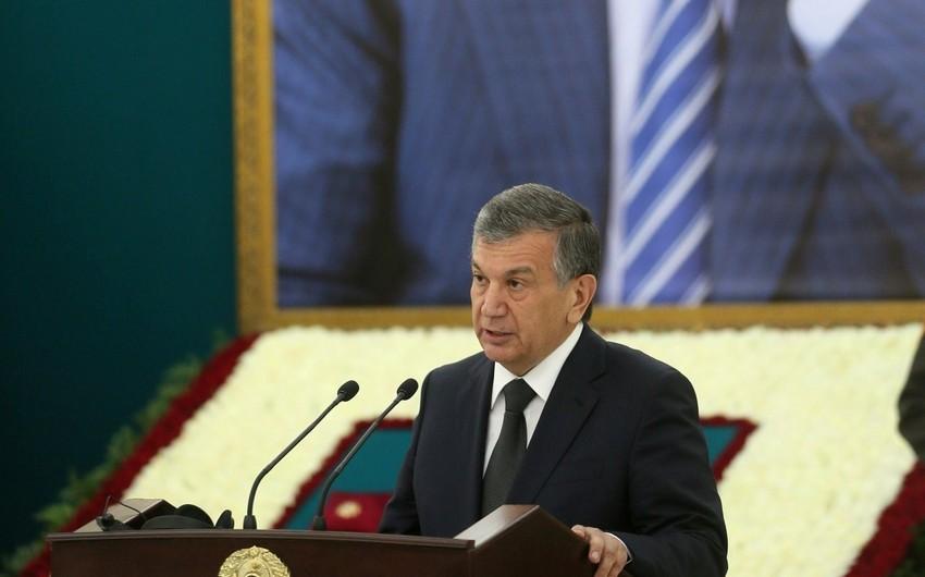 Özbəkistan prezidenti ilk rəsmi səfərini Qazaxıstana edəcək