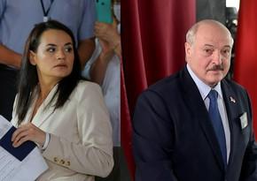 Lukaşenkonun seçkilərdəki rəqibi Litvaya üz tutdu