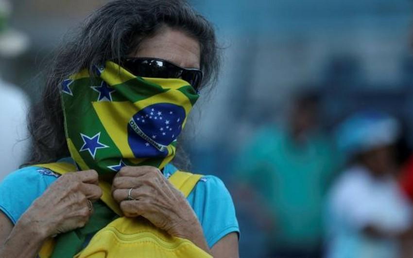 Braziliyada koronavirusa yoluxanların sayı 33 mini keçdi
