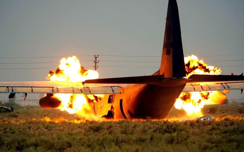 В Бразилии разбился самолет с футболистами на борту