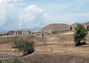 Видеокадры из села Джафарабад Джебраильского района