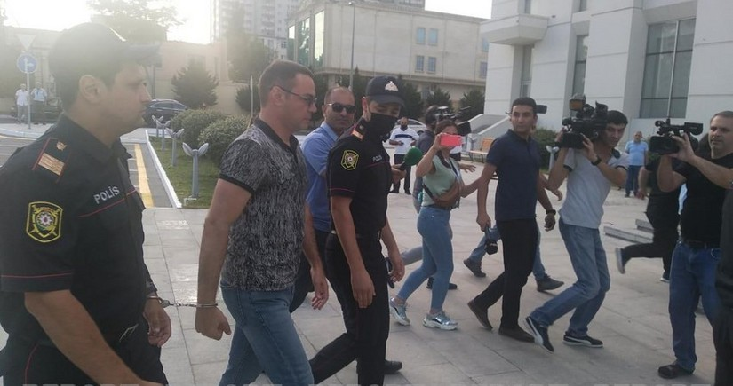 Azerbaijani ex-MP goes on trial for beating police officer