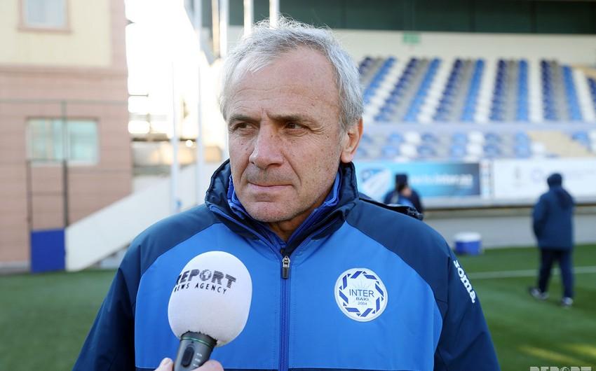 Главный тренер бакинского Интера понес тяжелую утрату