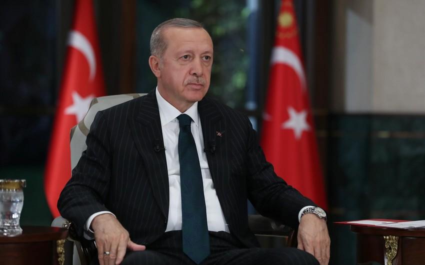 """Ərdoğan: """"Sülh yalnız Ermənistanın Qarabağı tərk etməsindən sonra ola bilər"""""""