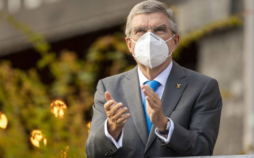 IOC prezidenti: Olimpiadanın 2021-ci ildə baş tutacağına əminəm