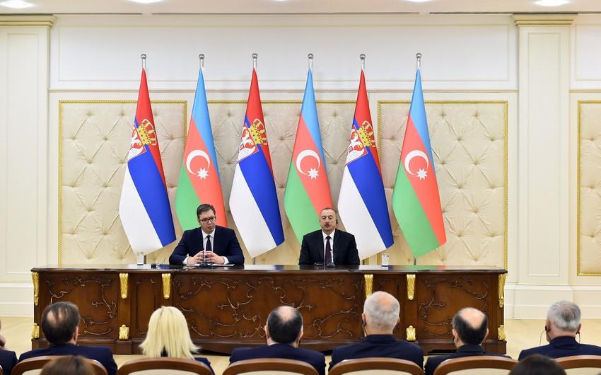 Aleksandr Vuçiç: Bu yaxınlarda Serbiya-Azərbaycan Hökumətlərarası Komissiyasının iclası olacaq